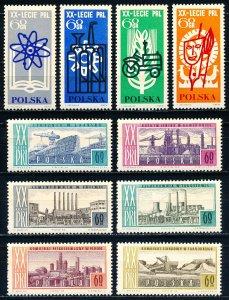Poland #1246-1255 Short Set of 10 MNH