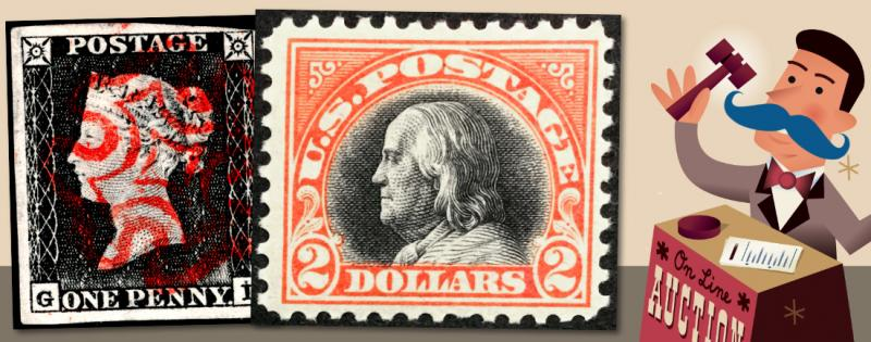 The 101st HipStamp One Cent Auction Event