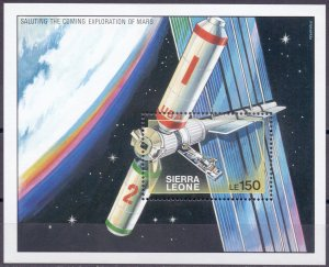 Sierra Leone. 1990. 1356-91 bl120-21. Space. MNH.