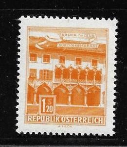 Austria 694 1.70s Building single Color Proof MNH (BB)