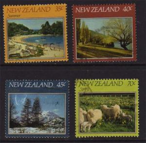 New Zealand 1982 SG 1266-1269 FU set