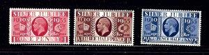 Great Britain 226-29 MNH 1935 KGV Silver Jubilee