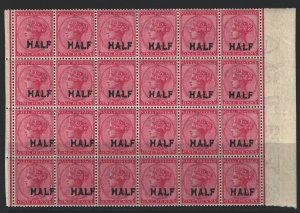 Natal Sc#80 MNH Block of 24 - some perf separation