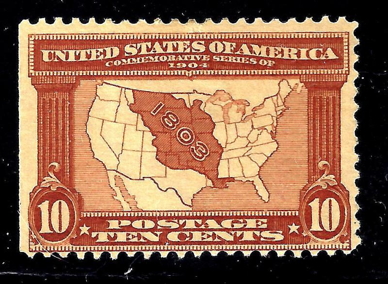 U.S. 327 Mint FVF SCV$130.00 Rich Color