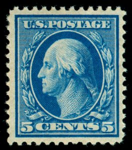MOMEN: US STAMPS #361 BLUE PAPER MINT OG NH PSE GRADED CERT VF-80 LOT #70525