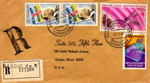 French Equatorial Africa Central African Republic 15F Premier Boganda, 25F WH...