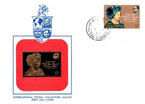 Gambia, Worldwide First Day Cover, Royalty