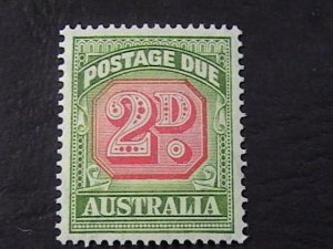 AUSTRALIA # J73-MINT NEVER/HINGED---POSTAGE DUE---1946-57