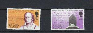PN97) Pitcairn Islands 1975 150th Anniv. of Death of John Adams MUH
