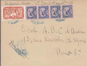 192X, Hanoi, French Indo-China to Paris, France (28088)
