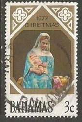 BAHAMAS 416 VFU CHRISTMAS T017-2