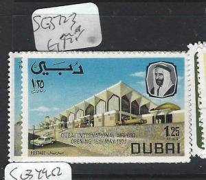 DUBAI   (P1404B)   AIRPORT  SG 372-3   MNH