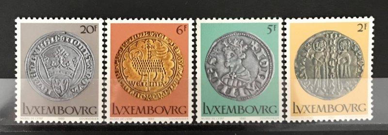 Luxembourg 1980 #635-8, MNH, CV $3.05
