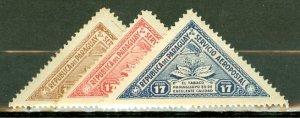 M: Paraguay C98-100 mint CV $48.50