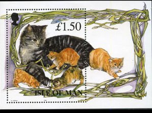 Isle of Man 1996 ,Manx Cats MNH S/Sheet # 677