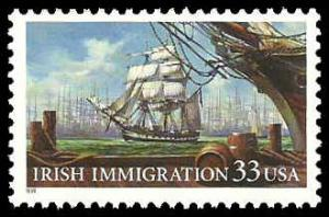 PCBstamps  US #3286 33c Irish Immigration, MNH, (2)