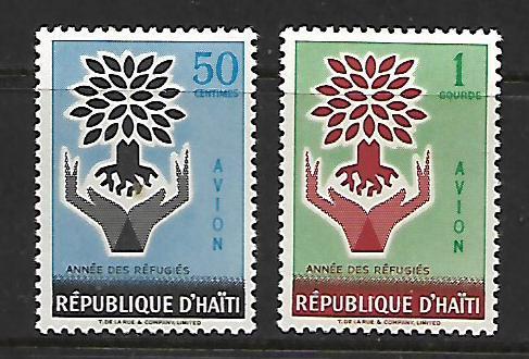 HAITI   C151-C152  MINT HINGED  WRY  1960, SET
