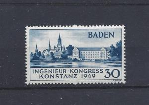 Germany (Baden), 5N41a, Occupation Stamps Single, **MNH**, (LL2019)