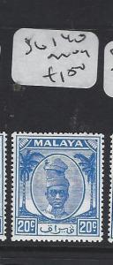 MALAYA  PERAK   (PP1605B)  SULTAN 20C  SG 140      MOG