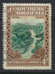 Southern Rhodesia  SG 58  SC# 61   Used / FU Golden Jubilee of BSAC   see det...