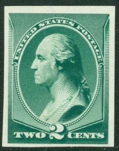 USA : 1887-88. Scott #213P3 Very Fine, Mint India proof. Catalog $75.00.