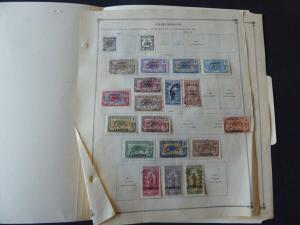 Cameroun 1916-1940 Stamp Collection on Scott Intl Album Pages