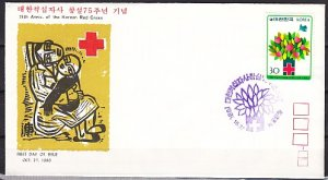 South Korea, Scott cat. 1229. National Red Cross issue. First day cover. ^