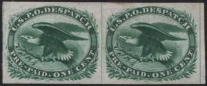#LO2TC3 TRIAL COLOR PLATE PROOF ON INDIA (GREEN) LINE PAIR EXT RARE WL6147 RNA14