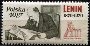 Poland; 1970: Sc. # 1728 O/Used CTO Single Stamp