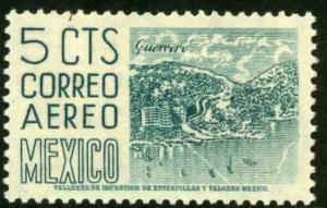 MEXICO C218, 5¢ 1950 Definitive 2nd Printing wmk 300. MINT, NH. F-VF.