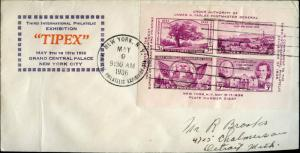 #778-72 TIPEX FIRST DAY COVER LUDWIG CACHET BN372
