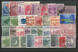 Pakistan Very Fine MNH** & Used Stamps Lot Collection 15378