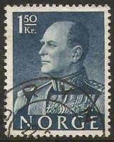 Norway Used Sc 371 - King Olav V