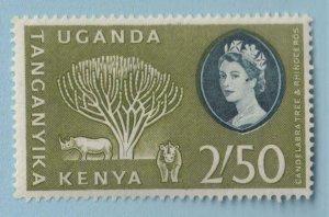 KENYA UGANDA TANGANYIKA 132  MINT  HINGED OG * NO FAULTS VERY FINE!