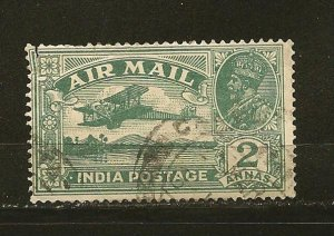 India C1 King George V Airmail Used