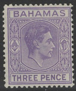BAHAMAS SG154 1938 3d VIOLET MTD MINT