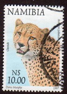 Namibia 870 - Used - Cheetah (cv $3.00)