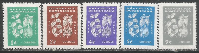 DOMINICAN REPUBLIC 553-57 MOG A330