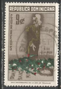 DOMINICAN REPUBLIC 508 VFU O098-3