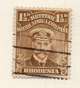 Rhodesia 1913-22 GV Admiral Type Early Issue Fine Used 1.5d. 274492