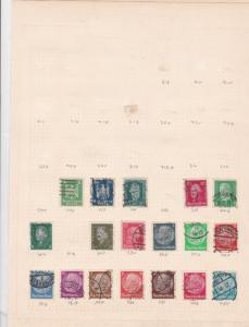 germany stamps page ref 17547