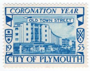 (I.B) Cinderella Collection : Plymouth Coronation Year (Old Town Street)