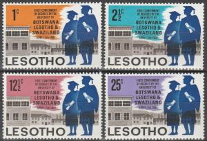 Lesotho #37-40 MNH F-VF (V4112L)