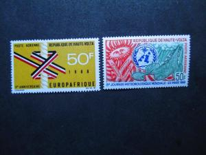 Upper Volta #C52-53 Mint Never Hinged - WDWPhilatelic (BX) 2