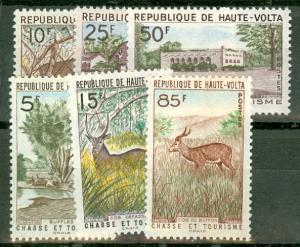 Upper Volta 97-102 MNH CV $11.70