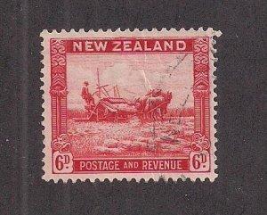 NEW ZEALAND SC# 193  FVF/U 1935