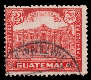 GUATEMALA STAMP 1943 SCOTT # 307. USED. # 1