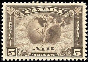 Canada #C2   Mint Superb  NH   - Lakeshore P...