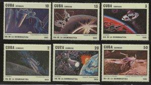 CUBA SC # 2780 - 5   MNH