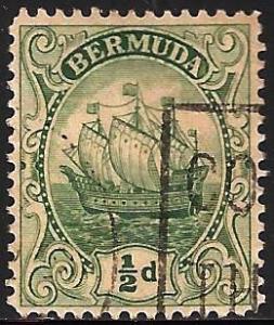 Bermuda 1922 Scott# 82 Used WMK 4